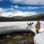 驯鹿森林图片集Becoming a Man: Tracking the White Reindeer{摄影集2#}TAIGA 泰加林的图片 第10张
