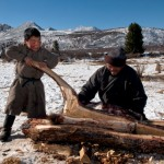 驯鹿森林图片集Becoming a Man: Tracking the White Reindeer{摄影集2#}TAIGA 泰加林的图片 第11张