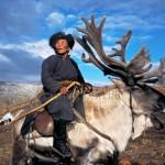 驯鹿森林图片集Becoming a Man: Tracking the White Reindeer{摄影集2#}TAIGA 泰加林的图片 第16张