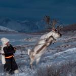 驯鹿森林图片集Becoming a Man: Tracking the White Reindeer{摄影集2#}TAIGA 泰加林的图片 第18张
