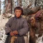 驯鹿森林图片集Becoming a Man: Tracking the White Reindeer{摄影集2#}TAIGA 泰加林的图片 第23张