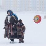 驯鹿森林图片集Arctic{摄影集9#}驯鹿牧民节的盛况图记的图片 第8张