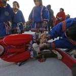驯鹿森林图片集Arctic{摄影集9#}驯鹿牧民节的盛况图记的图片 第9张