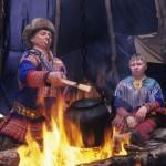 驯鹿森林图片集Norway{摄影集13#}同一镜头下的两个驯鹿民族的图片 第11张