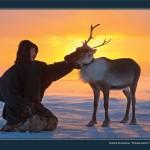 驯鹿森林图片集Nenets{摄影集12#}北极边城的传统与现代的图片 第20张