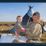 驯鹿森林图片集Nenets{摄影集12#}北极边城的传统与现代的图片 第21张